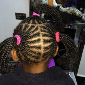 children cornrow styles