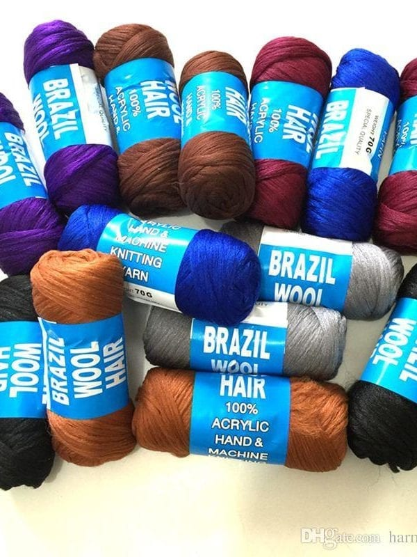2x Brazilian Wool Yarn Hair Afro Hair Salon London