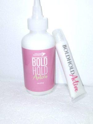 boldhold active and slider