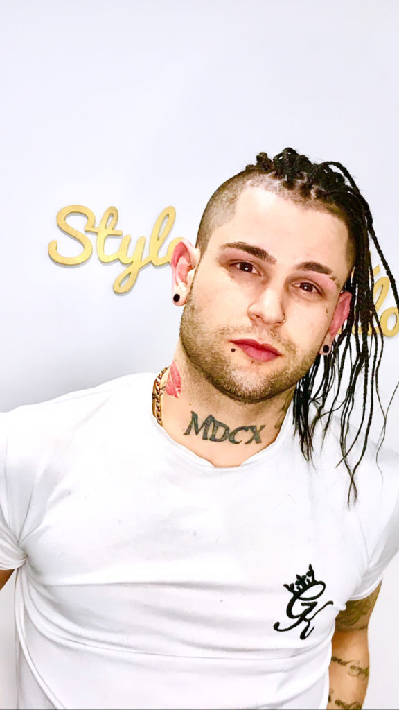 men braid styles